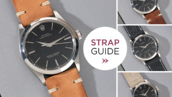Bulang and Sons Strap Guide Rolex Black Oyster 34 mm