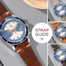 Bulang and Sons Strap Guide Tudor Blue Herritage Chronograph