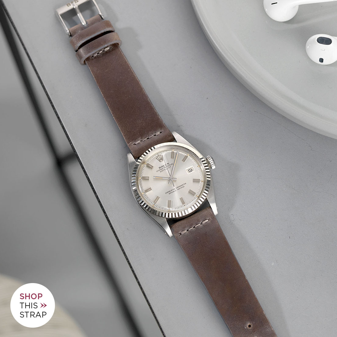 Bulang and Sons Strap Guide Rolex Datejust Silver Dial