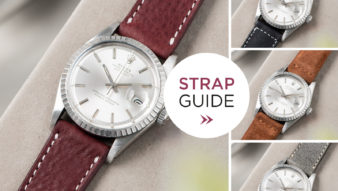 Bulang and sons_Strap Guide_Rolex Datejust Silverdial 1601 1603 1600 1630_LEATHER WATCH STRAP