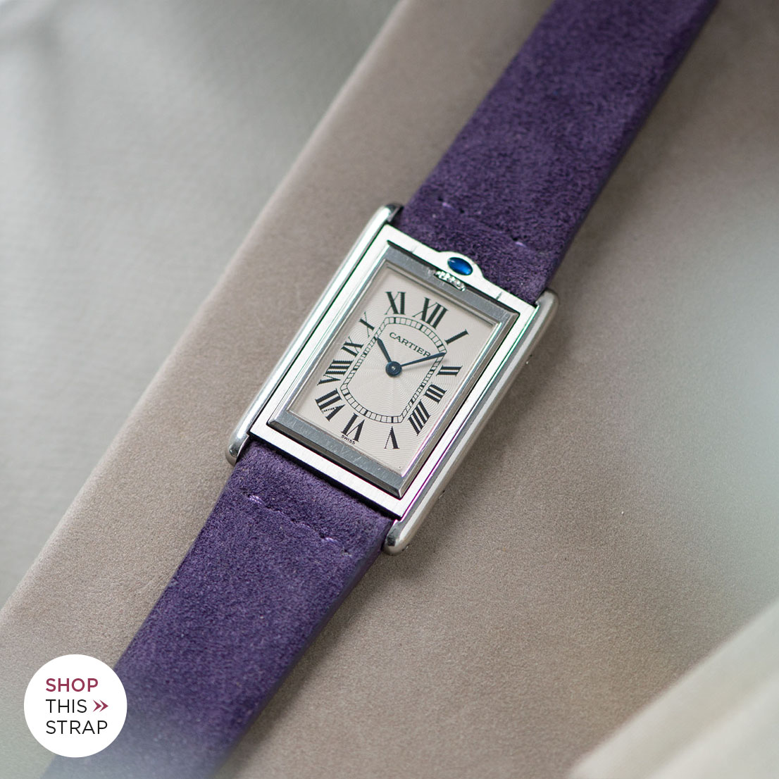 Bulang and Sons Strap Guide Cartier Tank Basculante