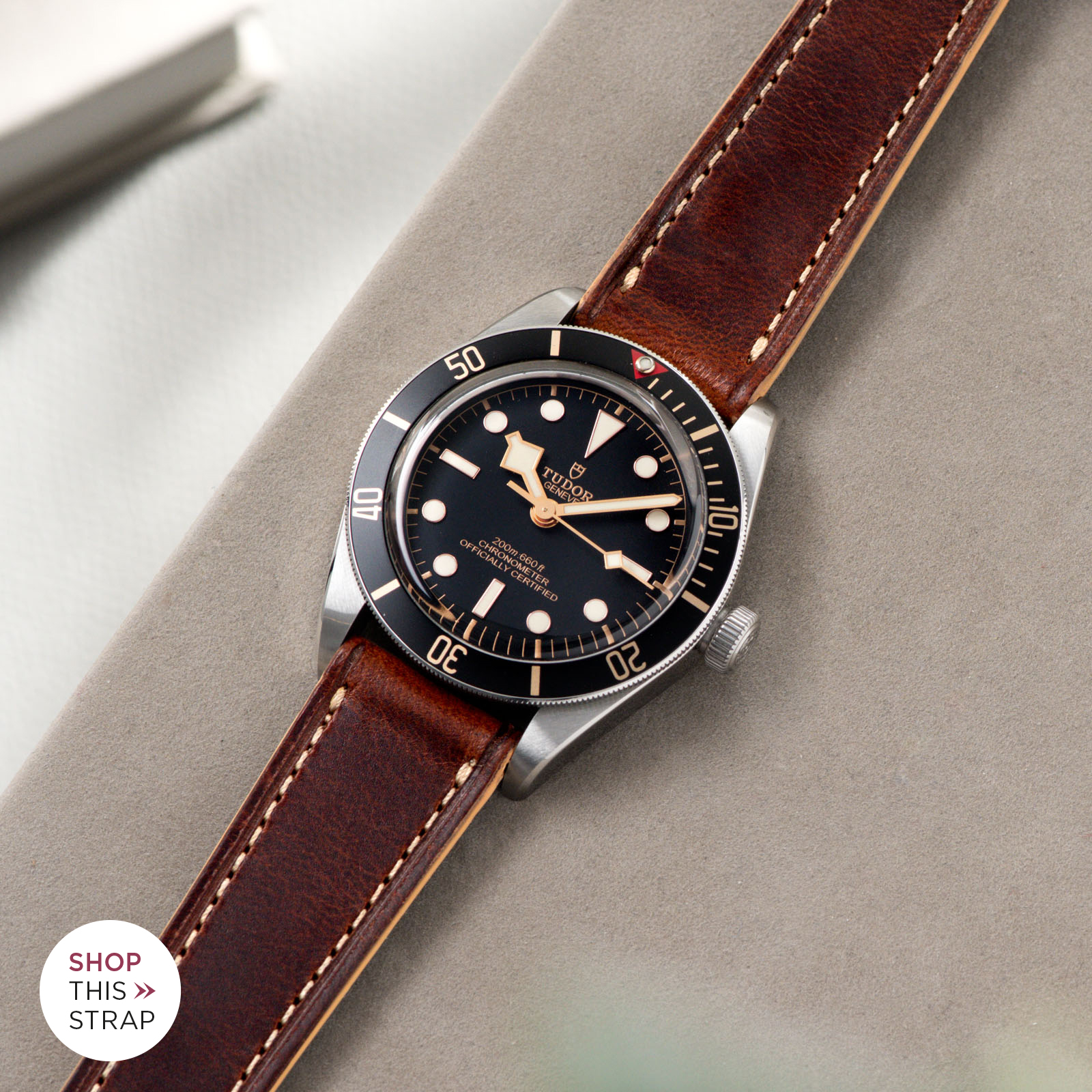 Bulang and Sons_Strap Guide_Siena Brown Retro Leather Watch Strap