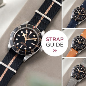 Strap Guide Tudor Black Bay Fifty Eight