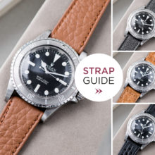 Bulang and Sons Strap Guide Rolex Submariner 5513 Faded