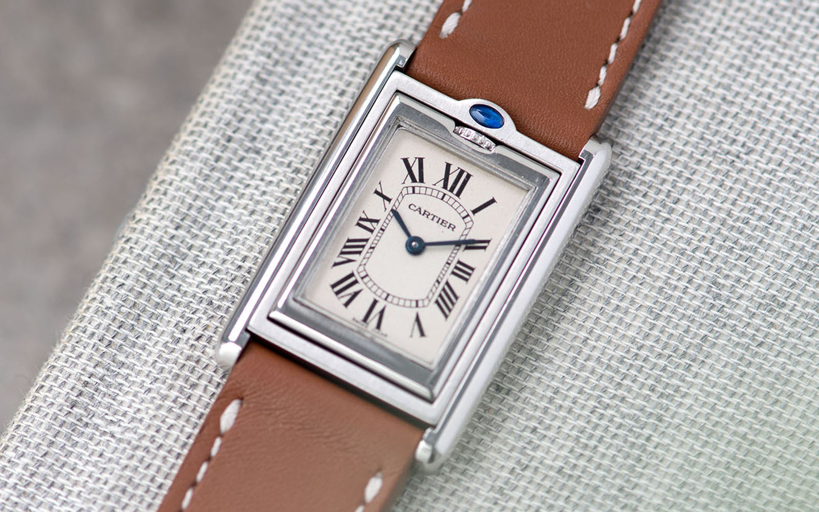 Bulang and Sons Strap Guide Cartier Tank Basculante 18 mm