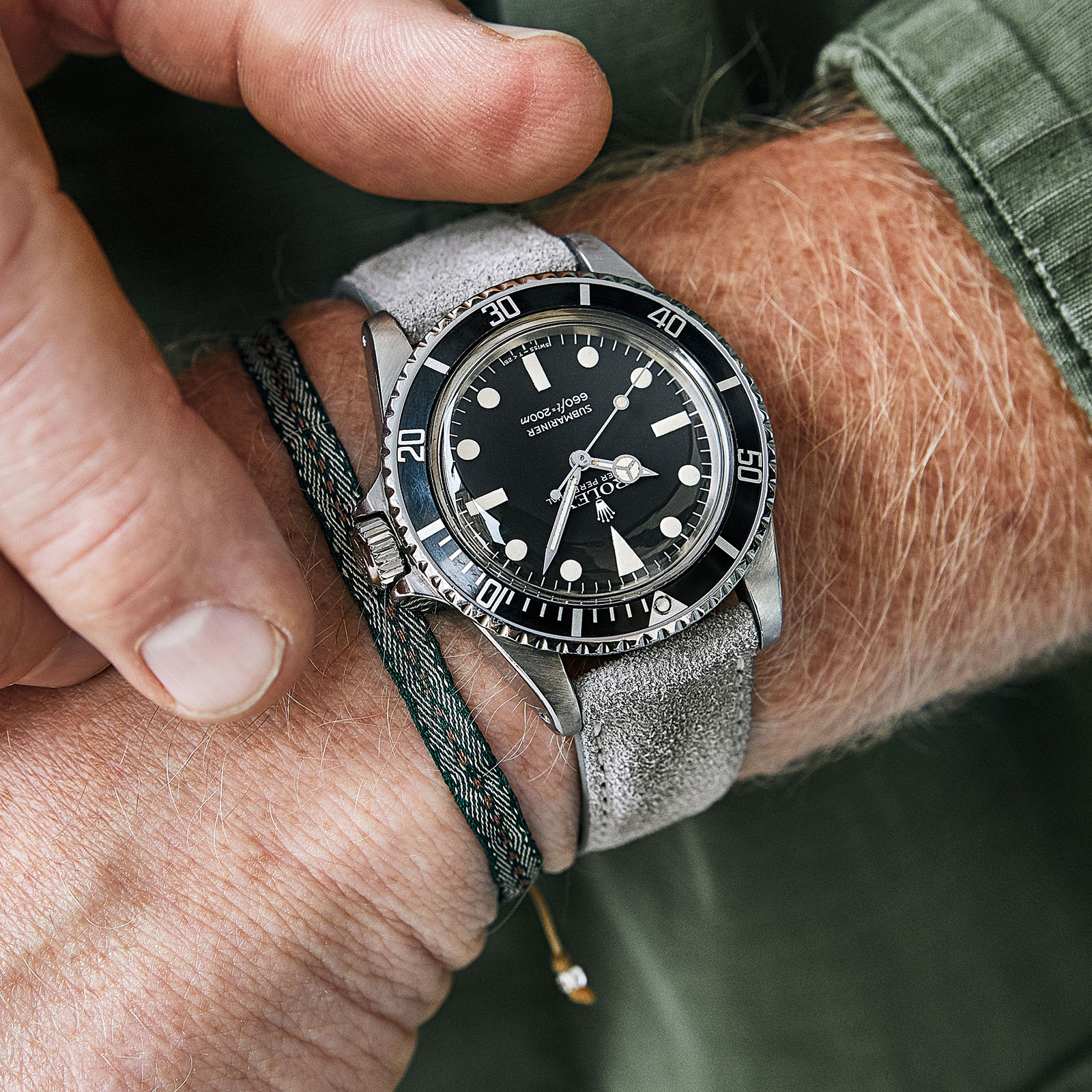 Bulang and Sons Strap Guide Rolex 5513 Submariner Black