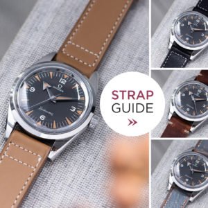 Bulang and Sons Strap Guide Omega Railmaster