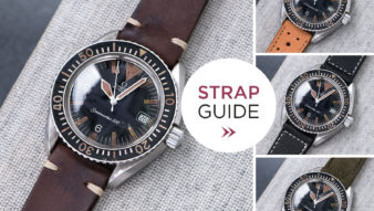 Bulang and Sons Strap Guide Omega Seamaster