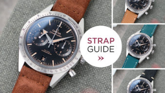 Bulang and Sons Strap Guide Omega Speedmaster Co-Axial