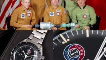 The Omega Speedmaster Apollo Soyuz 145.022 1975