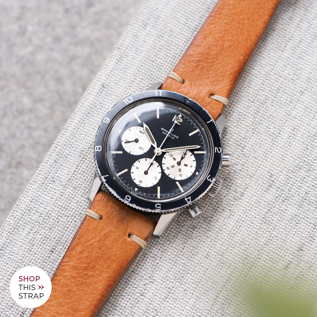 Bulang and Sons Strap Guide Breitling Co Pilot 7650 Chronograph