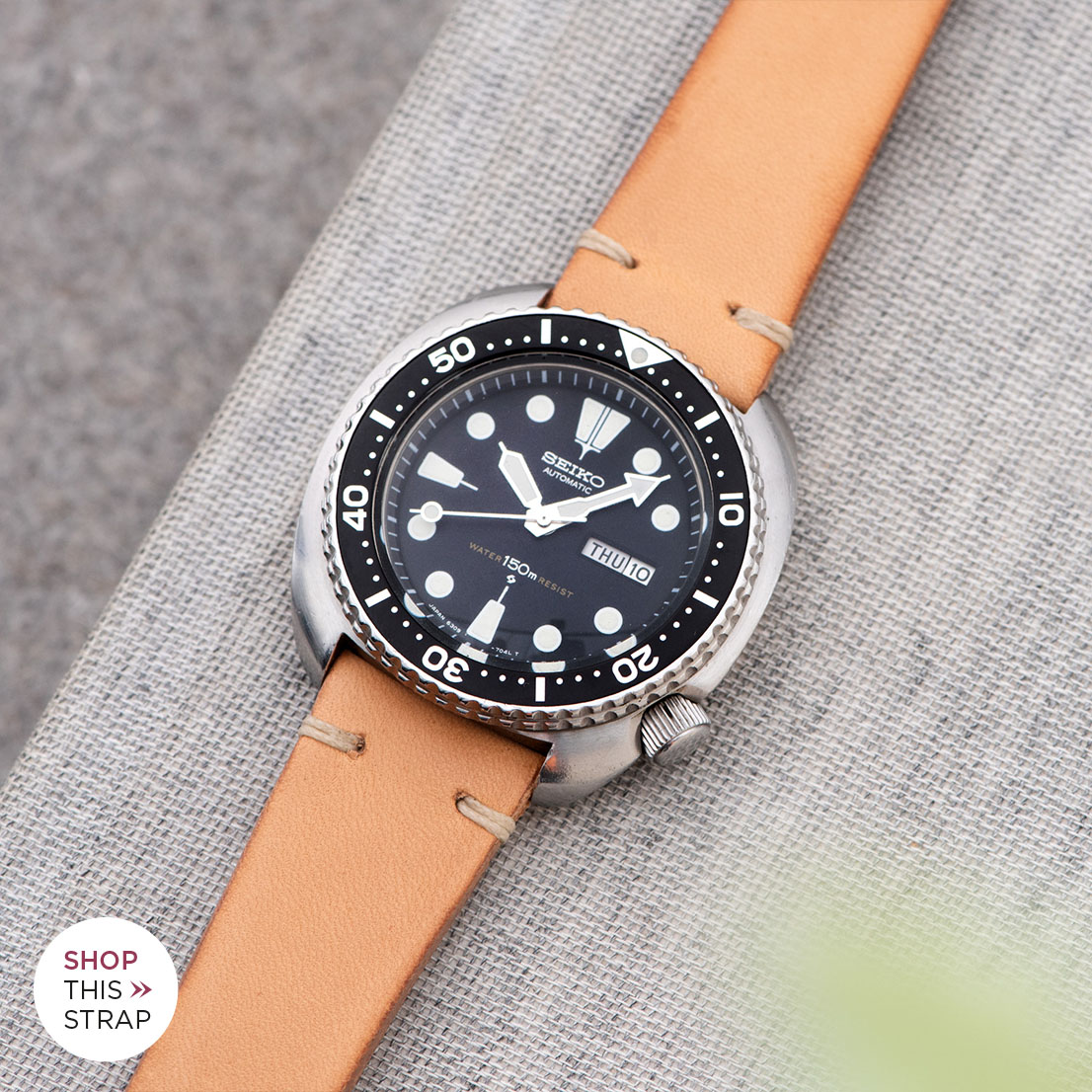 Bulang and Sons Strap Guide Seiko 6306/6309 series Turtle