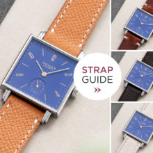 Bulang and Sons Strap Guide Nomos Tetra Blue
