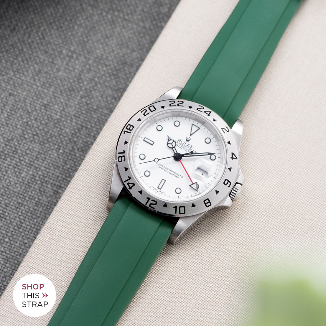 Bulang and Sons Strap Guide Rolex Explorer 2 White Dial 16570
