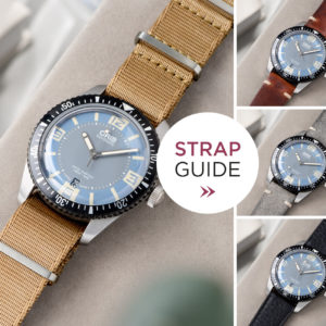 Bulang and Sons_Strap Guide_Oris Automatic Divers Sixty-Five Deauville_Leather Watch Strap