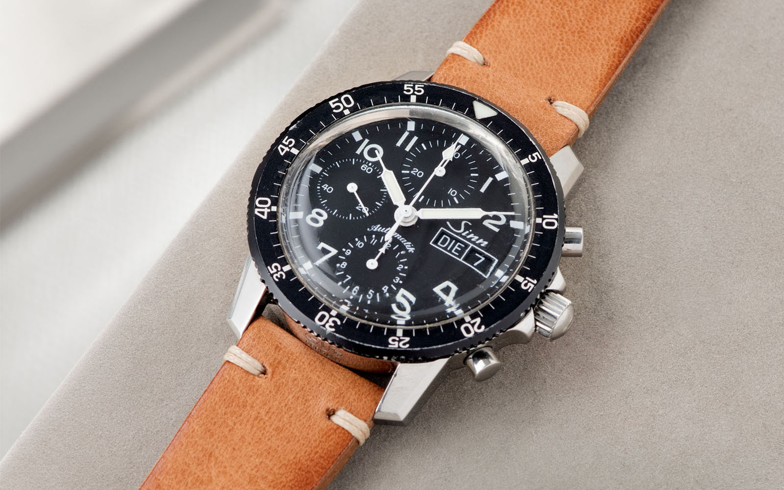 Bulang and Sons_Strap Guide_Sinn 103_Caramel Brown Leather Watch Strap_Banner