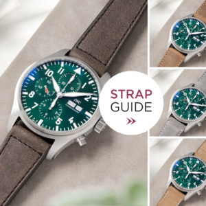 Bulang and Sons_Strapguide_IWC Pilots Watch Chronograph Spitfire