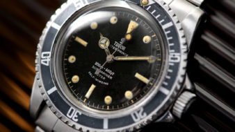 THE TUNDERBALL TUDOR 7928 Gilt Dial SUBMARINER