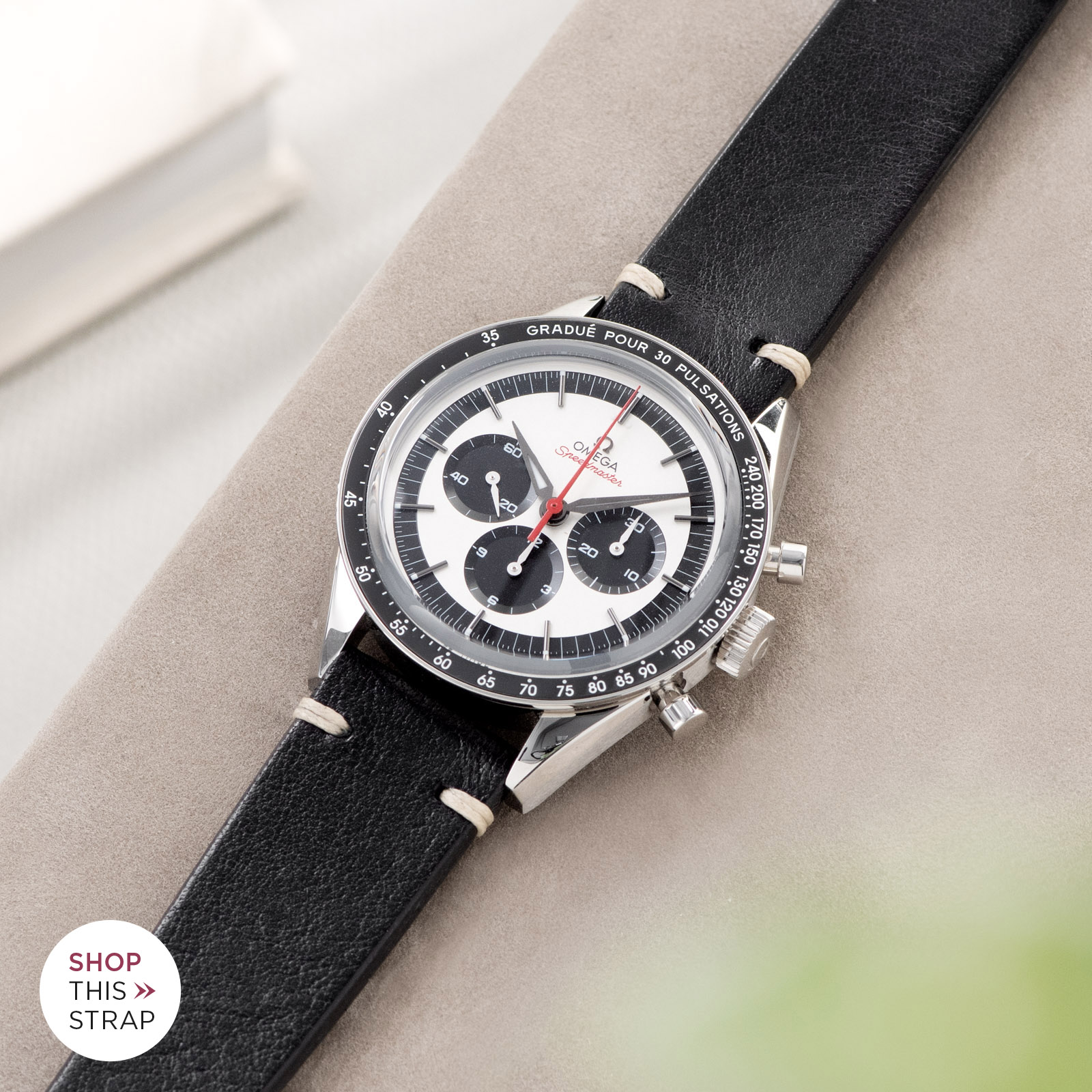 Bulang and Sons_Strap Guide_Omega Speedmaster 2998_Black Leather Watch Strappsd