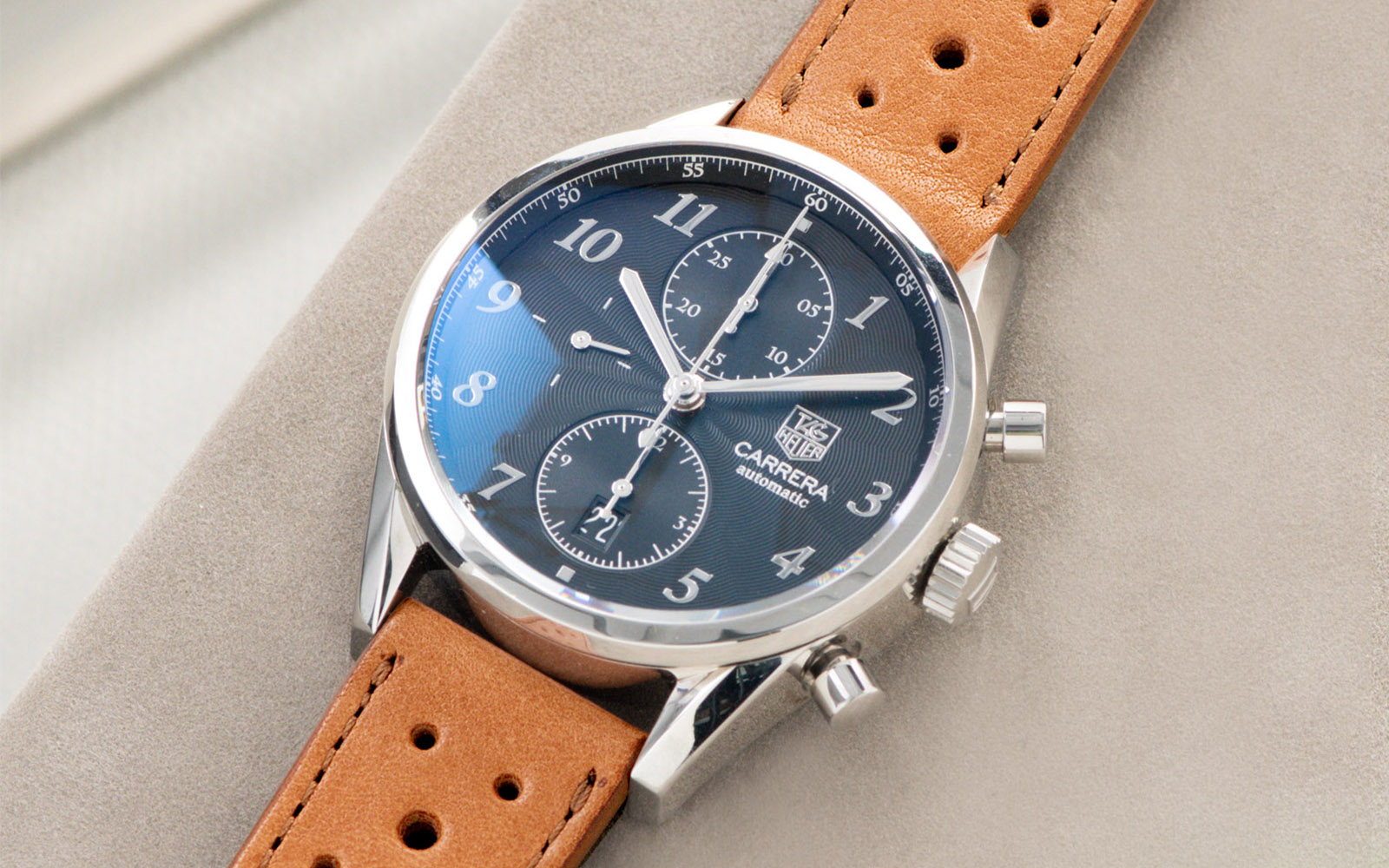 Bulang and Sons_Strap guide_Heuer Carrera Automatic_Racing Caramel Brown Leather Watch Strap_Banner