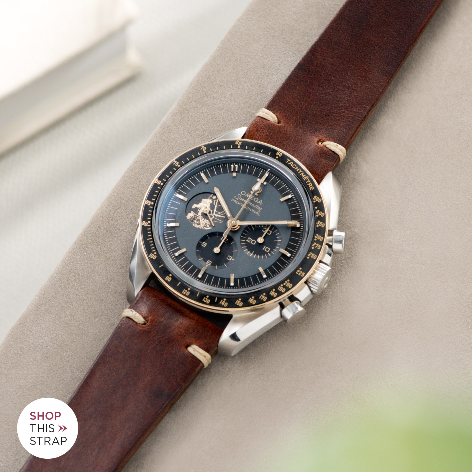 Bulang and Sons_Strapguide_Siena Brown Leather Watch Strap