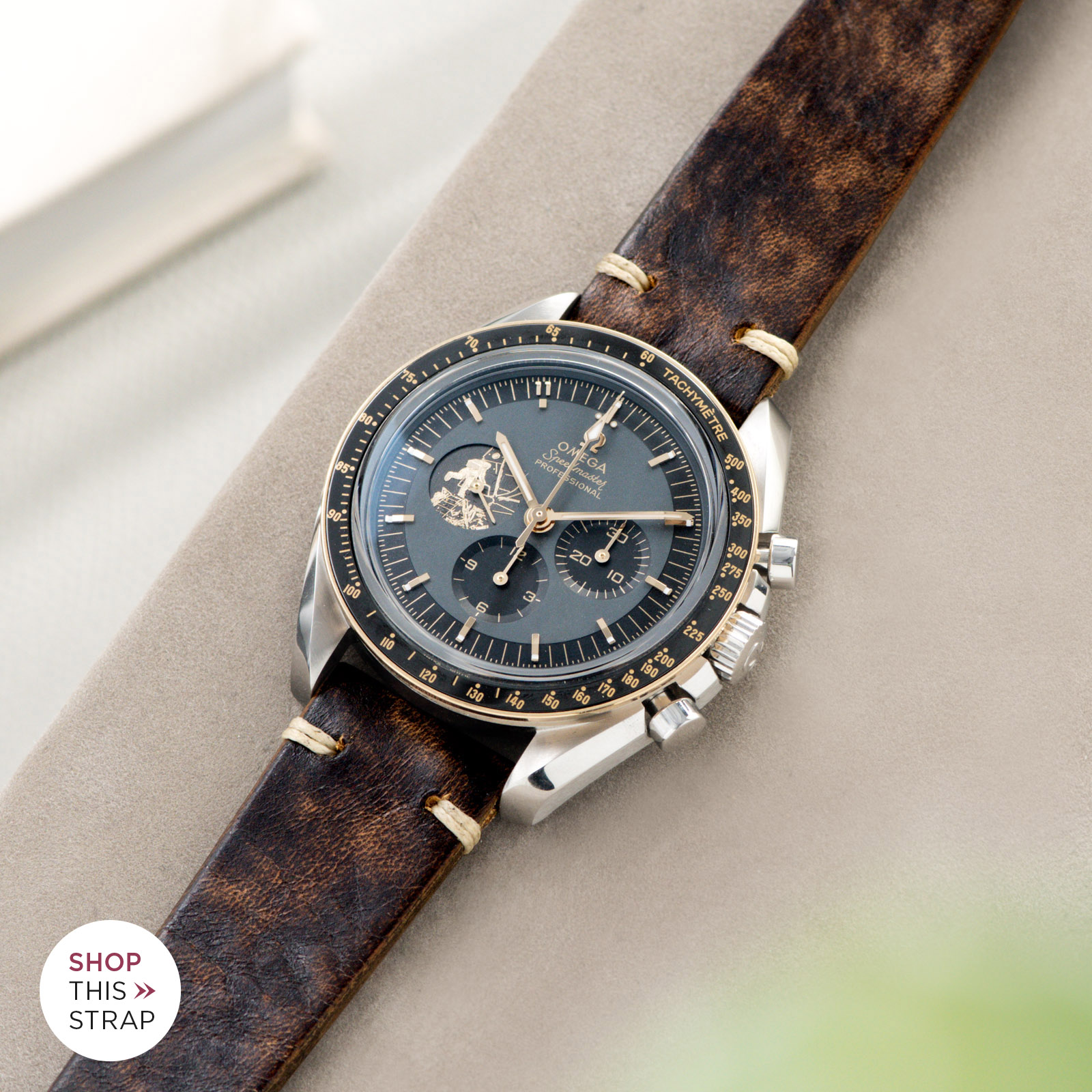 Bulang and Sons_Strapguide_Woodie Brown Leather Watch Strap