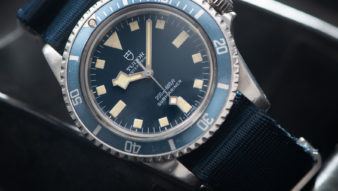 AN ORIGINAL STORY OF A TUDOR 9401 MARINE NATIONALE MN78 SUBMARINER Blue Snowflake Milsub.