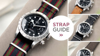 Strap Guide - TUDOR BLACK BAY CHRONOGRAPH m79350-0004